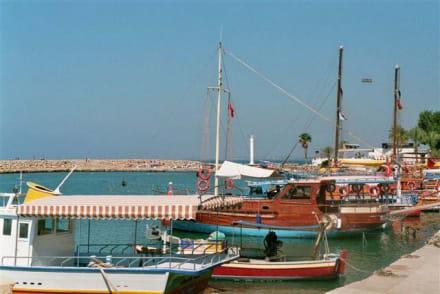 Hafen mit Booten - Hafen Side