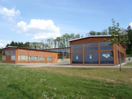 Museumsgebäude im Archäologiepark - Belginum