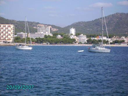 Küste Palma Nova - Strand Palma Nova