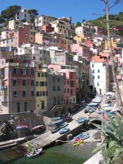 Riomaggiore - Altstadt Riomaggiore