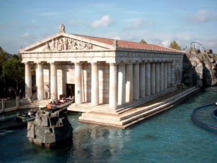 Station von Poseidon - Europa-Park