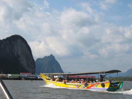 Bootsfahrt zur Insel Kho Pany - Phang Nga Bucht/Nationalpark Ao Phang Nga