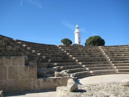 Das römische Odeon im Archäologischen Park - Odeon, Asclepieion & Agora
