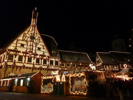 Market/Bazaar/Shopping center  - Christmas market  Forchheim