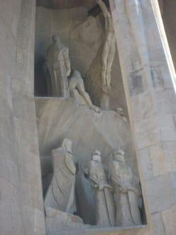 Frontansicht - Sagrada Familia