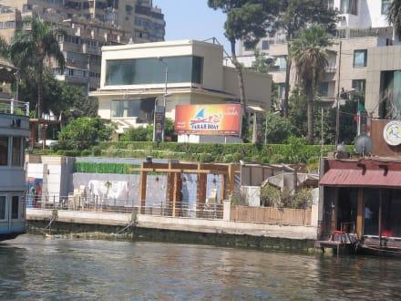 So wird auch gelebt, auf dem Boot - Nil