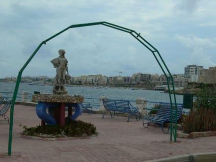 Bugibba - Strandpromenade Bugibba