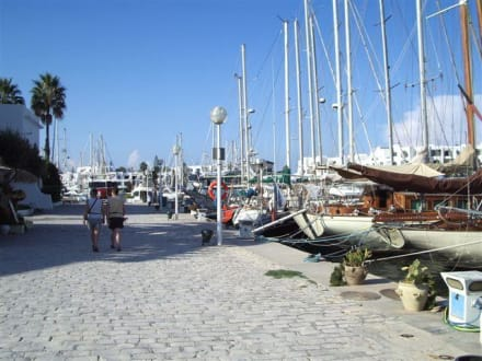 Der Hafen - Yachthafen Port el Kantaoui