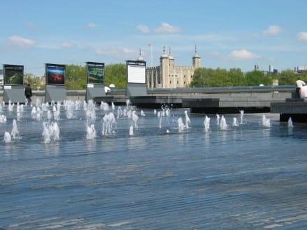 Blick auf Tower - Tower von London