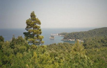 Küste von Vlachia im Nordosten Evias - Strand Vlachia