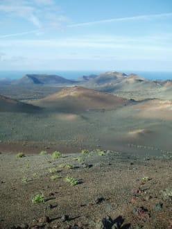 Kraterlandschaft - Nationalpark Timanfaya (Feuerberge)