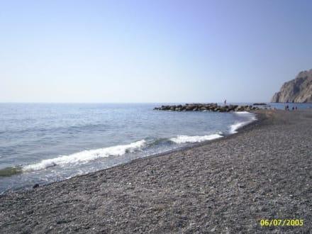 Kamari Beach - Strand Kamari