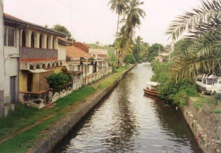 Negombo, Zimtkanal - Zimtkanal