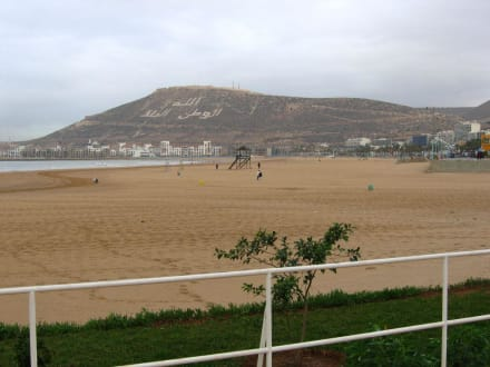 Agadir Strand - Strand Agadir