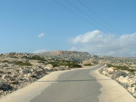 Strasse durch das Cap - Nationalpark Kap Greko / Kavo Gkreko