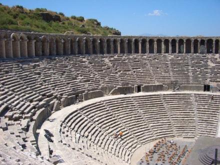 Aspendos02 - Theater von Aspendos