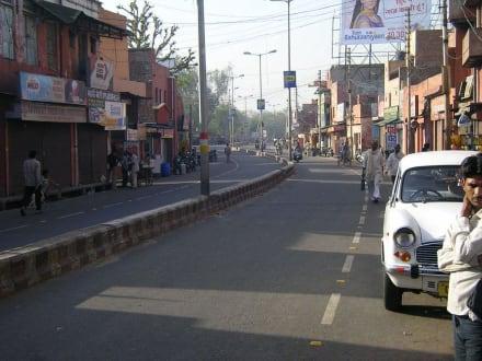 Straße in Agra - Agra
