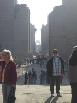 Eingang zum Karnaktempel - Amonstempel Karnak