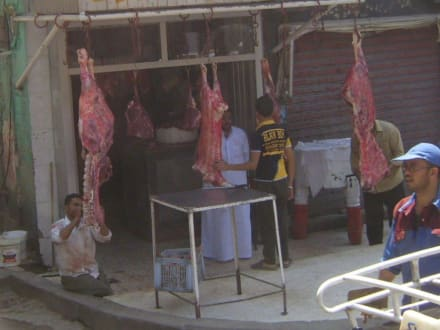 """Der """"Schlachter Ihres Vertrauens"""" in Kairo - Basar Khan El-Khalili"""