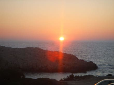 Sonnenuntergang - Agios Issidóros