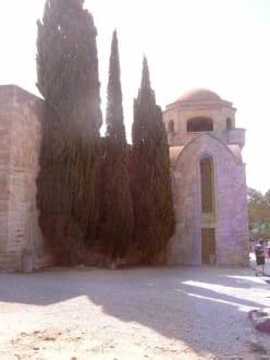 Die Johanniter-Kirche auf dem Filerimos-Berg - Kloster Filerimos