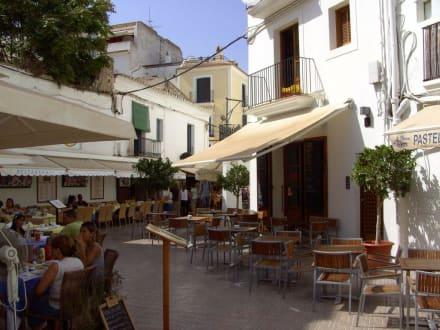 Restaurantmeile in der Unterstadt - Unterstadt Sa Penya