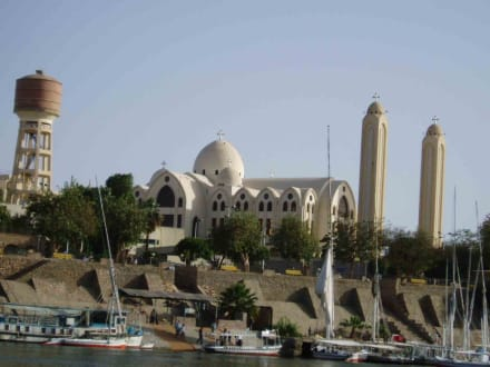 Assuan - Koptisch Orthodoxe Kirche Erzengel-Michael