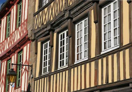 Dinan Fachwerkhäuser - Altstadt Dinan