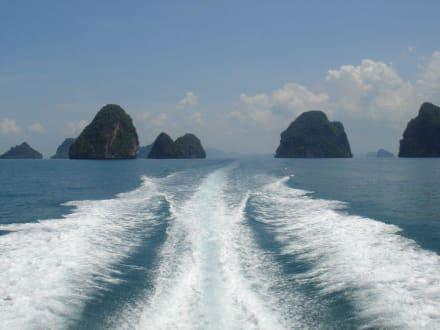 Mit dem Speedboot in die Inselwelt - Hong Island/Koh Hong