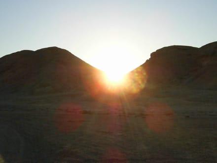 Sonnenuntergang in der Wüste - Quad Tour El Quseir