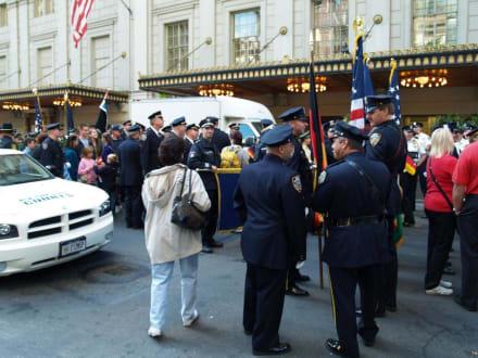 Aufstellung ur Parade - Steuben Parade New York