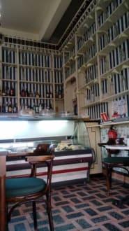 Innenraum Cafe Ebano - Altstadt Puerto de la Cruz