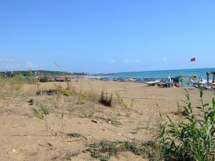 Osttrand von Side - Strand Side