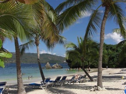 Strand von Cayo Levantado - Bacardi Insel - Isla Cayo Levantado
