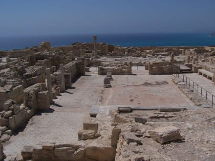 Kourion, Agora - Antike Königsstadt Kourion