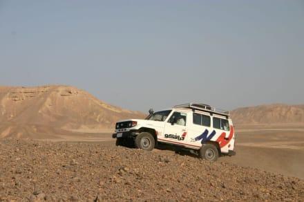 Jeep - Wüstentour Marsa Alam