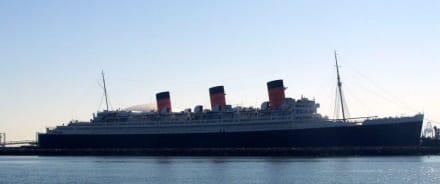 Hotelschiff Queen Mary Bild Queen Mary In Long Beach