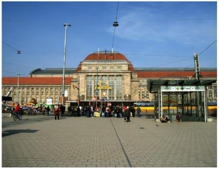 Der Leipziger Hauptbahnhof - Leipzig Hauptbahnhof