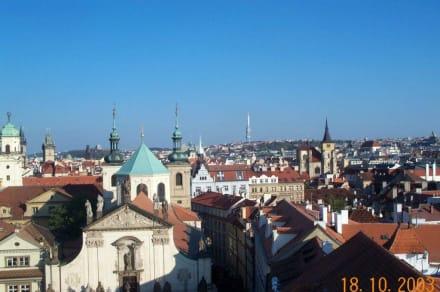 Über den Dächern Prags - Altstadt Prag