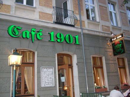 Auf zum Schlemmern - Cafe 1901