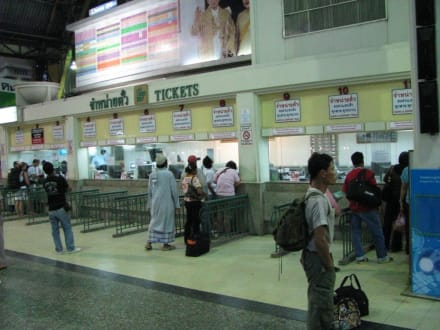 Hauptbahnhof Bangkok - Hauptbahnhof Bangkok