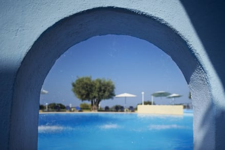 Swimming pool view Elea Village -