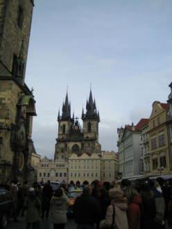 Blick über den Altstädter Ring - Teynkirche