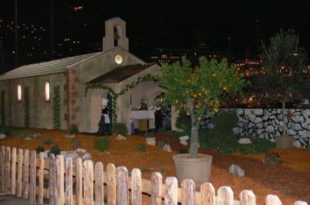 Krippe - Weihnachtsmarkt Monaco