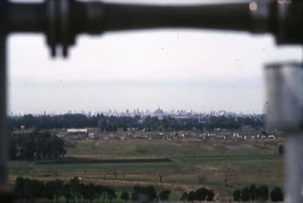 Blick von der Baustelle nach La Plata - La Plata