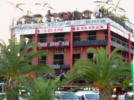 Restaurant am Hafen von Alanya - Disco Robin Hood
