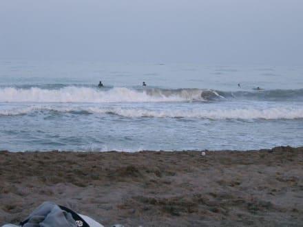 Strand bei Torremolinos - Strände Torremolinos