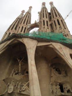 ganz schön hoch! - Sagrada Familia