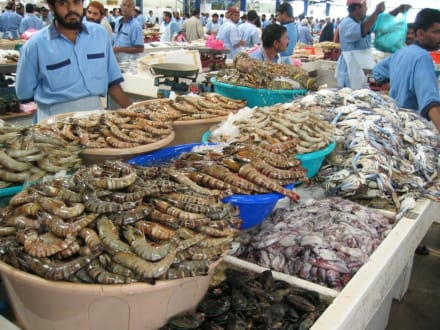 Fischmarkt in Dubai - Fischmarkt