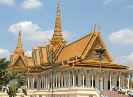Thronhalle, Königspalast in Phnom Penh - Königspalast